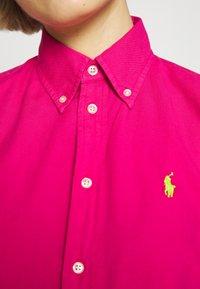 Polo Ralph Lauren - RELAXED LONG SLEEVE SHIRT - Button-down blouse - accent pink - 4