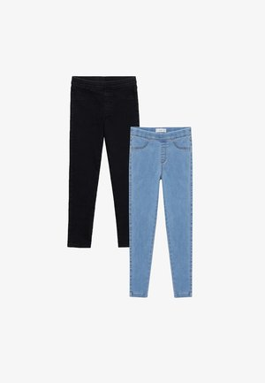 2 PACK - Jeggings - bleu clair