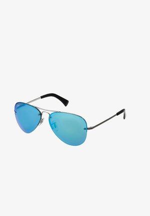 0RB3449 - Aurinkolasit - gunmetal light green mirror blue