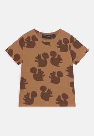 SQUIRREL TEE - T-shirt print - brown