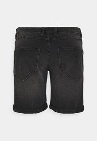 URBN SAINT - USOLSSON DESTROY - Denim shorts - sbit black - 1