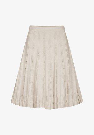A-line skirt - sandstein
