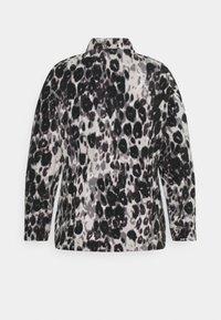 CAPSULE by Simply Be - LEOPARD PRINT JACKET - Fleece jumper - grey - 1