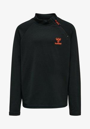 ACTION  - Sweatshirt - black/fiesta