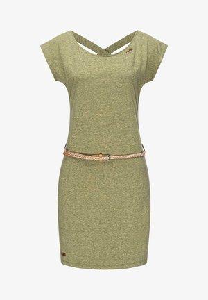 SOFIA W - Jersey dress - olive