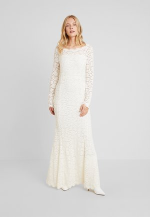 DRESS LS - Festklänning - ivory