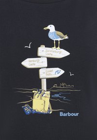Barbour - SEAGRASS TEE - Long sleeved top - navy - 5