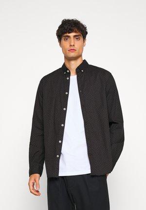 REGULAR PRINTED - Košile - black/burgundy