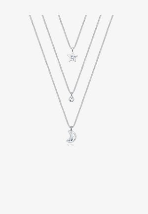 LAYER MOND STERN  - Ketting - silver-coloured
