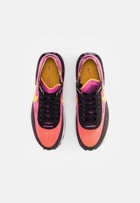Nike Sportswear - WAFFLE ONE - Sneaker low - active fuchsia/univ gold-black-coconut milk-mtlc silver-orange - 7