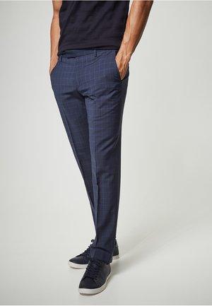DUPONT - Suit trousers - dark blue
