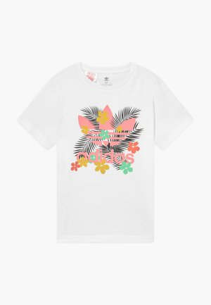 TEE - T-shirt med print - white/multi-coloured