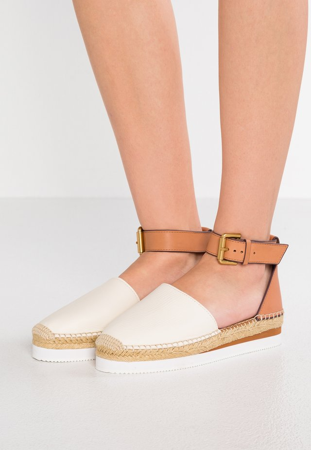 Loafers - gesso/natural