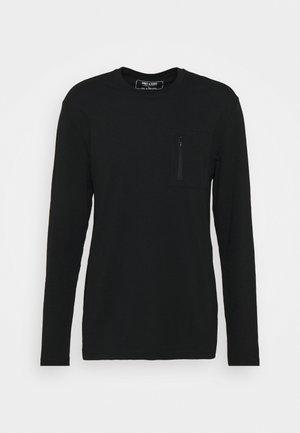 ONSMAKHI LIFE POCKET TEE - Långärmad tröja - black