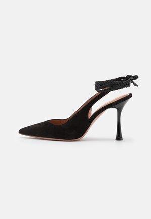 ALENA - Lace-up heels - nero