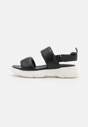 VITALITY - Korkeakorkoiset sandaalit - schwarz