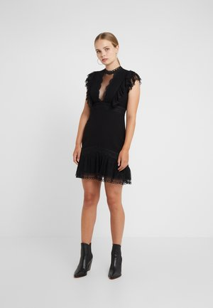 EXTRA ILLUSION DRESS - Cocktail dress / Party dress - black
