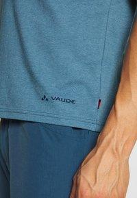 Vaude - ME CYCLIST  - T-Shirt print - blue gray - 5