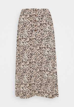 OBJHESSA LILITI SKIRT  - A-line skirt - sandshell