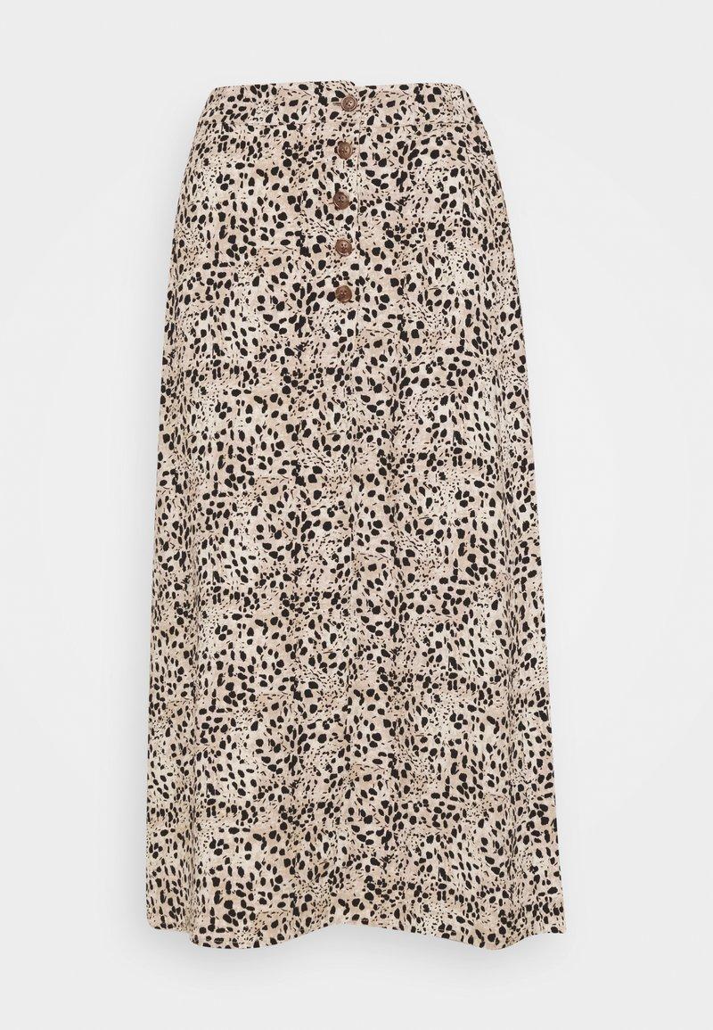 Object - OBJHESSA LILITI SKIRT  - A-line skirt - sandshell