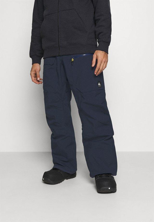 STRETCH - Zimní kalhoty - navy blazer