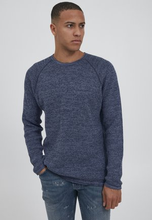 SDTAZ - Stickad tröja - china blue
