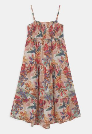 NKFVINAYA STRAP DRESS - Maxi dress - vintage indigo