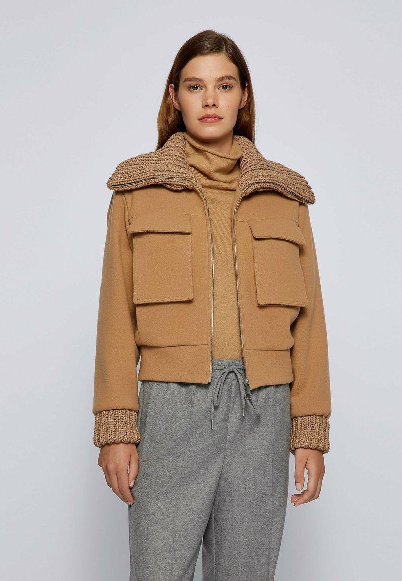 BOSS - JALEANA - Light jacket - light brown