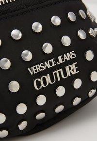 Versace Jeans Couture - STUDDED BUM BAG - Bum bag - black - 2