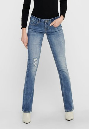 Jeans a zampa - light blue denim