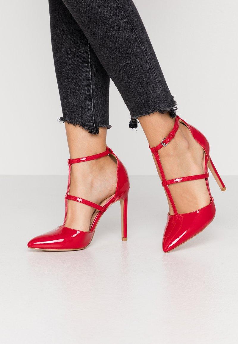 Even&Odd - Zapatos altos - red
