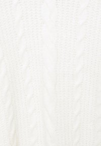 Abercrombie & Fitch - TURTLE NECK CABLE - Jumper dress - white - 2