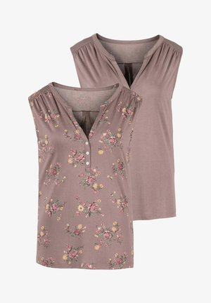 2 PACK - Top - taupe