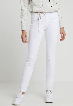 POWER - Slim fit jeans - white denim