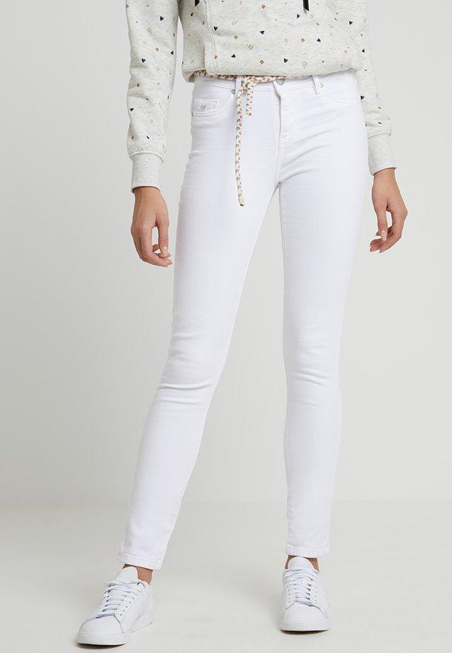 POWER - Jeans slim fit - white denim