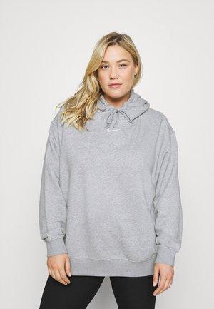 PLUS - Sweatshirt - dark grey heather/white