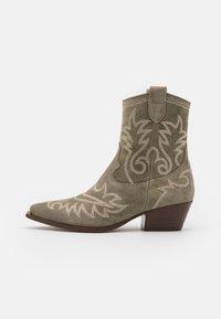Alpe - TEJANA - Cowboy/biker ankle boot - army - 1