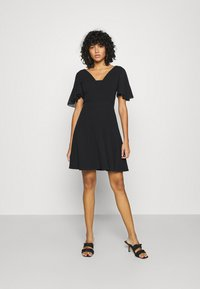 WAL G. - KYLA SKATER DRESS - Day dress - black - 1