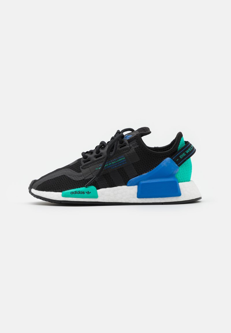 adidas Originals - NMD_R1.V2 BOOST SPORTS INSPIRED SHOES UNISEX - Trainers - core black/footwear white
