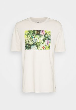 RELAXED FIT TEE - T-shirt med print - serif tofu