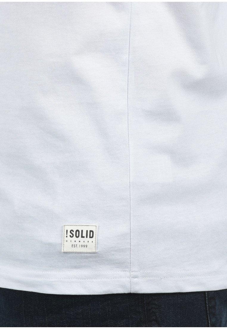 Solid T-Shirt print - dark blue/dunkelblau CKod2O