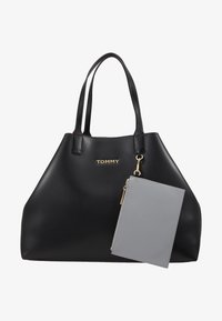 Tommy Hilfiger - ICONIC TOTE SOLID - Tote bag - black - 8