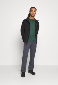 Columbia - HEATHER CANYON™ NON HOODED JACKET - Impermeable - black - 1