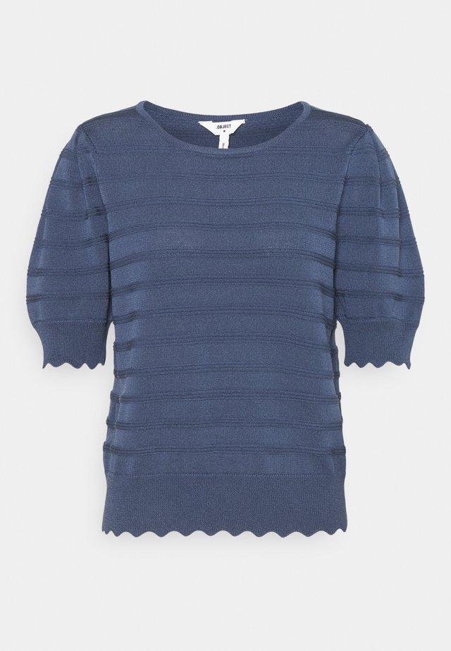 OBJSAVA - T-shirts - ensign blue