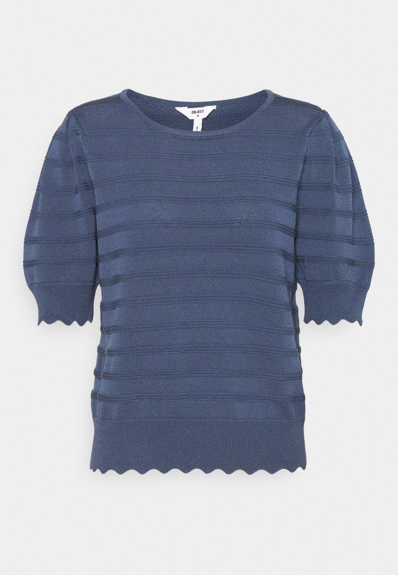 Object - OBJSAVA - Basic T-shirt - ensign blue