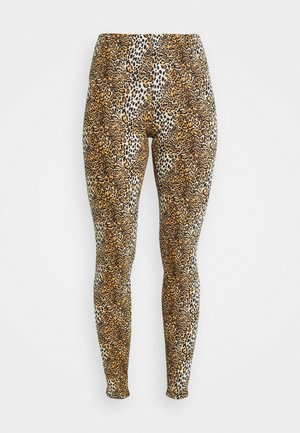 NMKERRY ANILLA   - Leggings - Trousers - light brown