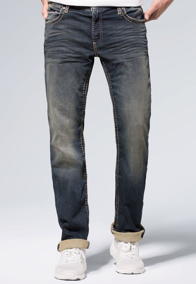 Relaxed fit jeans - blue black jogg