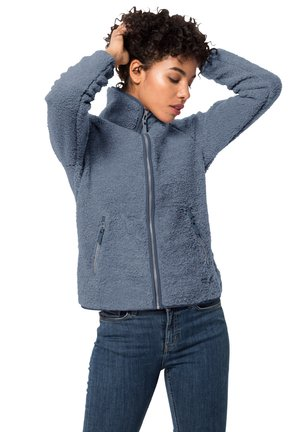 HIGH CLOUD  - Fleece jacket - frost blue