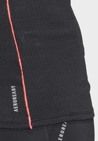 adidas Performance - ADI RUNNER PRIMEGREEN RUNNING - T-shirt print - Black - 11