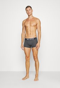 Hollister Co. - 5 PACK  - Boxer shorts - grey/dark blue/black - 0